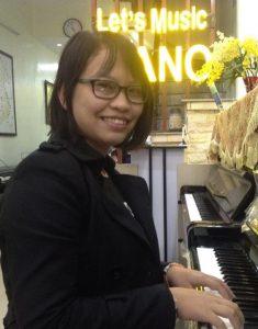 Cô PHẠM PHƯƠNG THUÝ Học viện âm nhạc